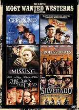 The 6-Movie Most Wanted Westerns Collection (DVD, 2013, 3-Disc Set) New