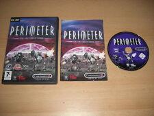 PERIMETER Pc DVD Rom - Original with Manual - FAST DISPATCH