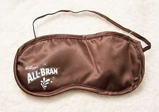 KELLOGG'S ALL - BRAN SLEEP MASK CEREAL MILK NIGHT DARK EYES BREAKFAST REST BE JR