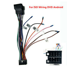 Car Stereo 20PIN ISO Wiring Harness Connector Adapter For ISO Wiring DVD Android