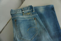 G-Star Damen Jeans bootcut stretch Hose 29/32 W29 L32 stonewashed blau C10