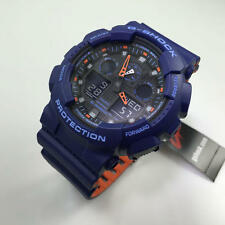 Casio G-Shock Blue Digital Analog Watch GA100L-2A