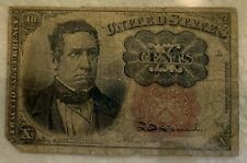 1874 United States 10 Cents Fractional Currency Fifth Issue