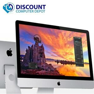 "Apple iMac 21.5"" Core i5 8GB 500GB HD Wifi Bluetooth Webcam OS Mojave - Grade B"
