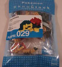 Kawada Nanoblock Pokemon HINOARASHI  - japan building toy NBPM_029 LTD