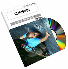 Rock Climbing Training Mountaineering  Mountain Climb Rope How To Course CD Book