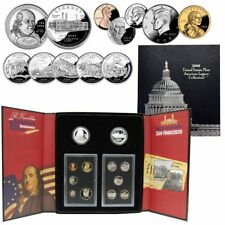 2006 United States Mint American Legacy Collection Silver Proof Set Ben Franklin