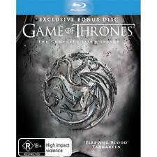 Game Of Thrones Series Season 6 New Blu Ray Set Collector's Edition Bonus Disc