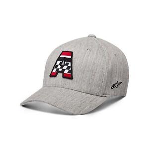 ALPINESTARS AXLE HAT FITTED CAP NEU HEATHER GR:L/XL ASTARS