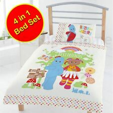 THE NIGHT GARDEN BEST FRIENDS JUNIOR TODDLER DUVET COVER BUNDLE SET 4 IN 1