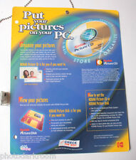 Kodak Pictures Further CD eMail Lab Hanging Signage PF4-113 1999 1089119USED B23