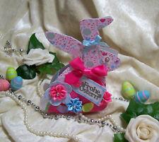 Geschenkbox zu Ostern Geldgeschenkbox  OSTERHASE Pink Türkis  NEUHEIT