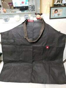 Chef Works Unisex Boulder Bib Apron, Brown, One Size New with tags