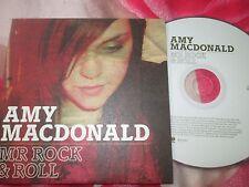 Amy Macdonald – Mr Rock & Roll Vertigo – ROCKCJ1 UK Promo CD Single