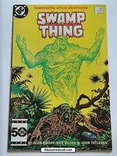 Swamp Thing #37 (1982 2nd Series) High Grade Key 1st John Constantine DC Comics!