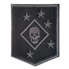 USMC raiders marines MARSOC subdued ACU embroidered morale sew iron on patch