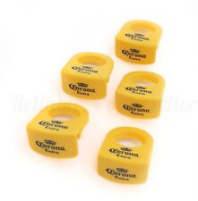 5 Corona Extra Beer Yellow Margarita Coronita / Coronarita Bottle Clips ~ New