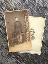 "Identified Civil War CDV Inscribed ""To Mother"" 43rd Massachusetts Infantry"