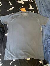 Yathletics Men's Short Sleeve Silverair Merino T Shirt Gray Size Large