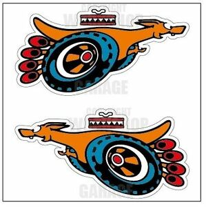 Ford XY GT SUPER ROO - Medium Decal Stickers