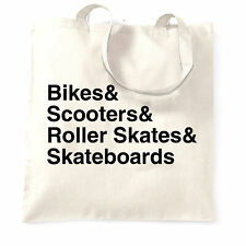 Shredding Tote Bag The Skate Park List Extreme Sports Equiptment