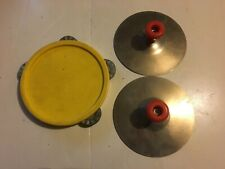 FISHER PRICE Band 921 Vintage 1979 Child Musical Instruments Cymbals Tambourine