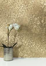 Blattgold Samt Muster Optik Tapete champagner gold metallic glanz Velvet Crush