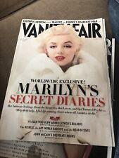 Lot of 2_Vanity Fair Magazines_Marilyn Monroe on Cover_November 2010_June 2012