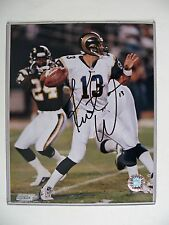 Kurt Warner St. Louis Rams signed 8 X 10