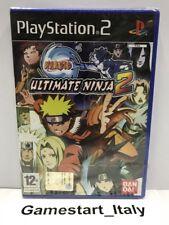 NARUTO ULTIMATE NINJA 2 - SONY PS2 - VIDEOGIOCO NUOVO SIGILLATO - NEW SEALED PAL