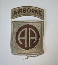 Vintage Military Patch: U.S. Army 82nd Airborne Division