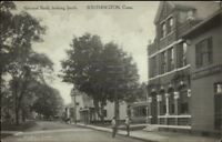 Southington CT National Bank c1910 Postcard jrf