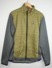 aa453d0053 Orage Hybrid Layering Quilted Fleece Insulated Jacket Mens L LG Large