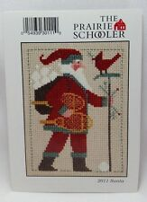 2011 Santa The Prairie Schooler Christmas Cross Stitch Pattern Chart # PC11 OOP
