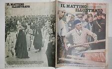1934 Mussolini operaio Morte di Re Alessandro Saturno Serpenti automobile di e