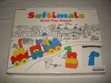 NEW SOFTIMALS PRETEND PLAY BUILDING TOY CIRCUS TRAIN SET INFINITOY PLAYSET