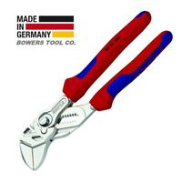 """Knipex 7-1/4"""" Pliers Wrench 8605180 Adjustable Wrench w Comfort Grips"""