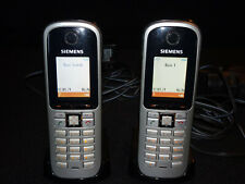 Siemens Gigaset cordless phone system - S685ip base & two S68h handsets