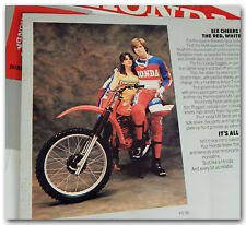 1979 HONDA HONDALINE ACCESSORIES BROCHURE w/ GL1000 CB650 CR125R MOTOCROSSER