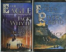 2 Jack Whyte: vol 5 and 9 Camulod Chronicles: River's Bend & Eagle