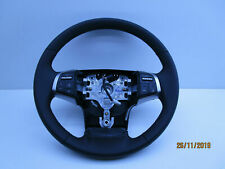 GENUINE  HOLDEN COLORADO RG STEERING WHEEL LEATHER WITH BUTTONS LATE 14-16