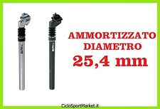 Reggisella ammortizzato Diametro 25,4 mm in Alluminio - Lunghezza 350mm