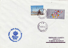 LITHUANIAN PASSENGER SHIP MS BALTICA A SHIPS CACHED COVER