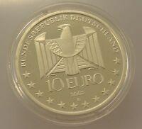 10 Euro Silber Gedenkmünze aus Deutschland / 100 Jahre U-Bahn l / 999-er Silber