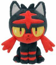 Pokemon Center Litten Plush Doll Stuffed Figure Toy Collection Gift - 7 Inch