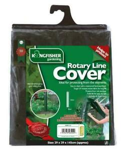Kingfisher Heavy Duty Washing Line Cover Rotary Cover Garden Dryer Waterproof