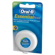 Oral-B Oral B Essential Dental Floss Waxed Mint Flavour 50m