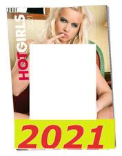 2021 HOt Girls CALENDAR Adult Sexy Seductive Erotic Women Month View Pin Up Wall