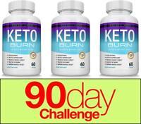 Keto Diet BURN Pills 1200 MG Ketosis Weight Loss Supplements Fat Burn&Carb Block