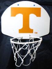 Mini Plastic Basketball Hoop Over Door Wall Mount Tennessee W/ Glow Ball